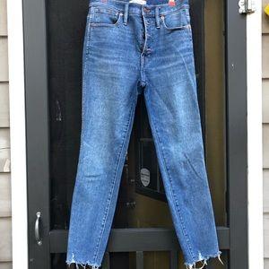 •Madewell Cordova Skinny Jean•